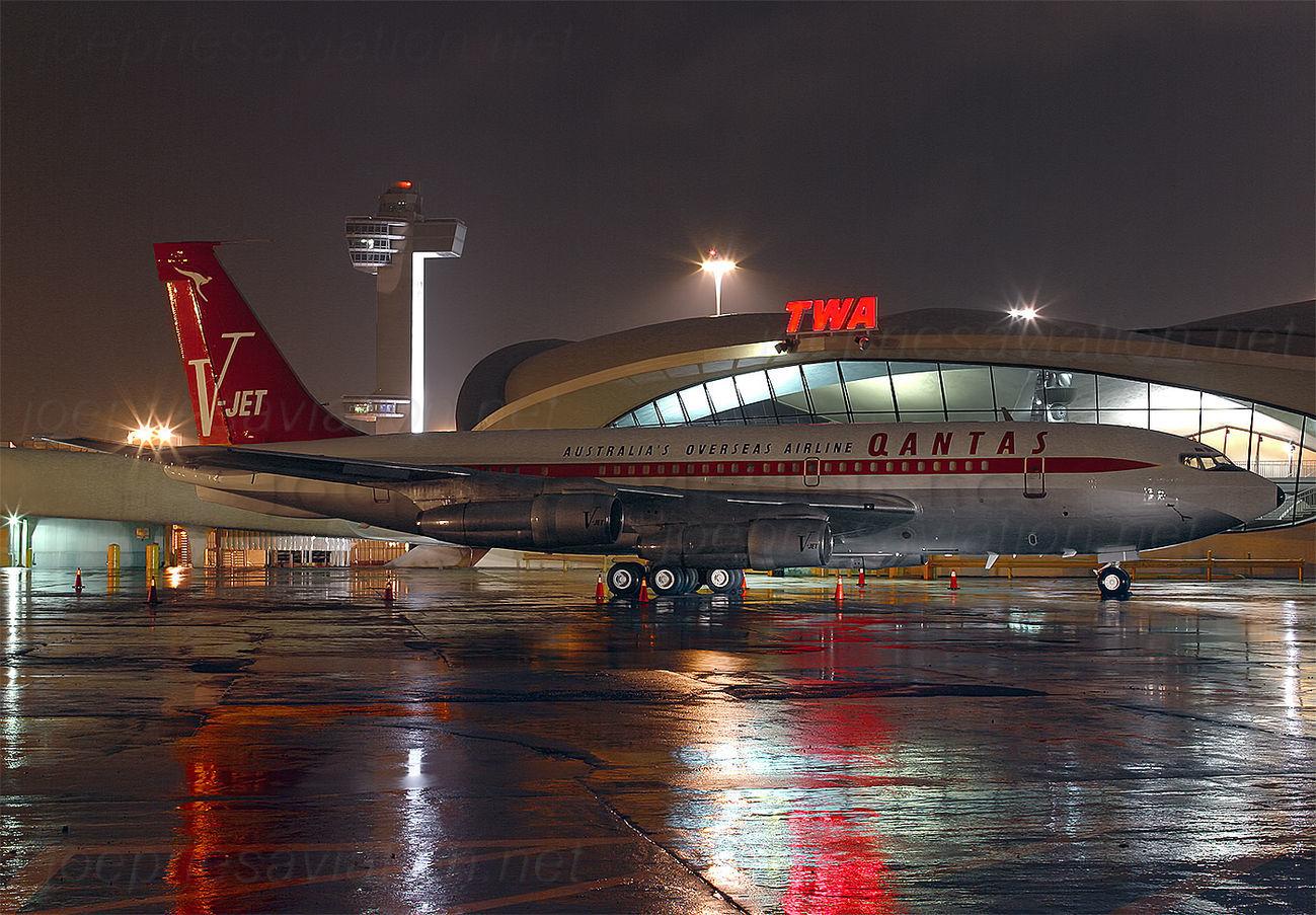 Joe Pries Aviation Qantas 707 N707jt Jfk 0802 Jp Take1 Joe Pries Aviation